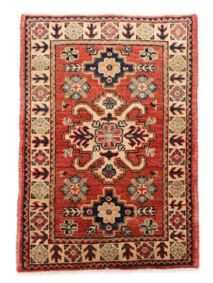 "Hand Woven Persian Kazak (2' 11"" x 2')"
