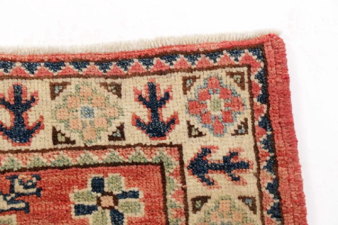 "Hand Woven Persian Kazak (2' 11"" x 2') - 3"