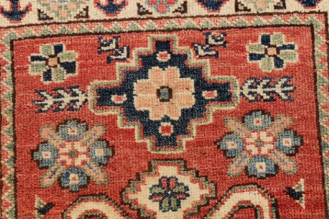 "Hand Woven Persian Kazak (2' 11"" x 2') - 4"