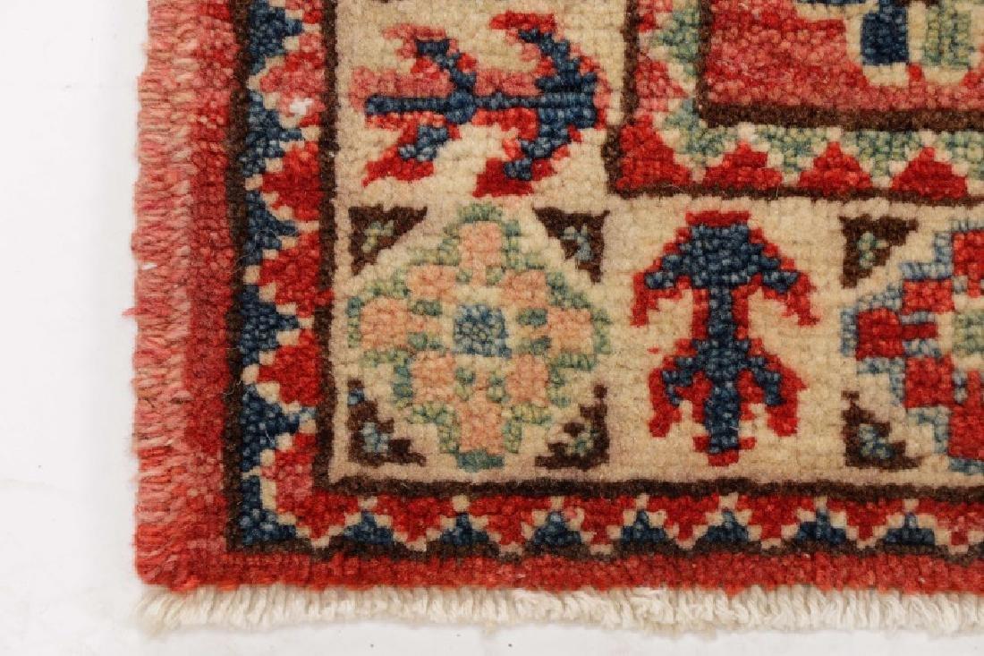"Hand Woven Persian Kazak (2' 11"" x 2') - 5"