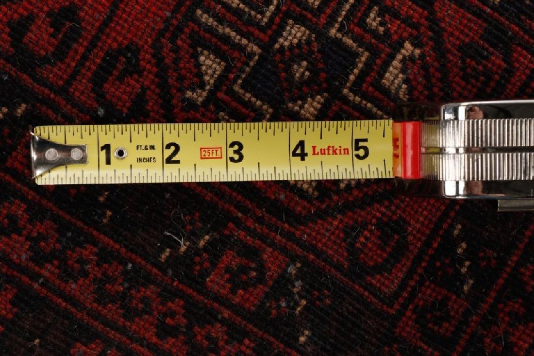 "Hand Woven Turkeman Area Rug 2' 10"" x 4' 6"" - 5"