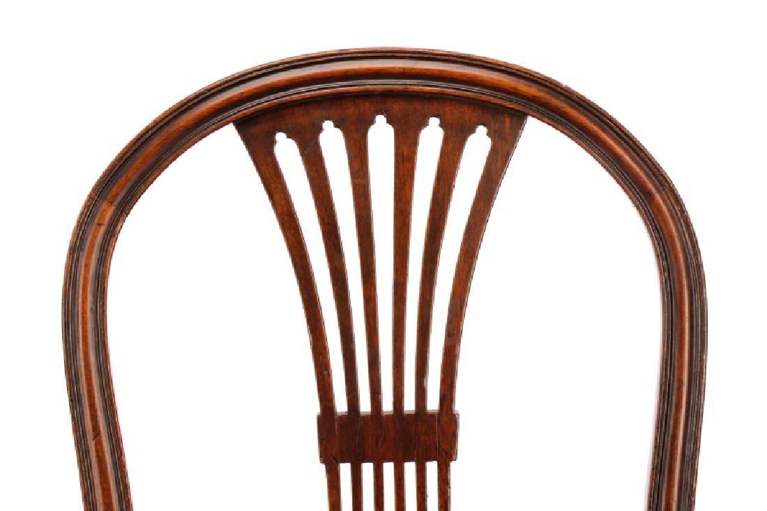 Set of 4 Edwardian Hepplewhite Side Chairs - 2