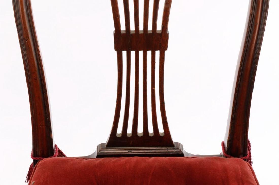 Set of 4 Edwardian Hepplewhite Side Chairs - 4