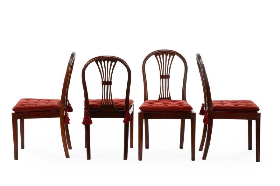 Set of 4 Edwardian Hepplewhite Side Chairs - 5