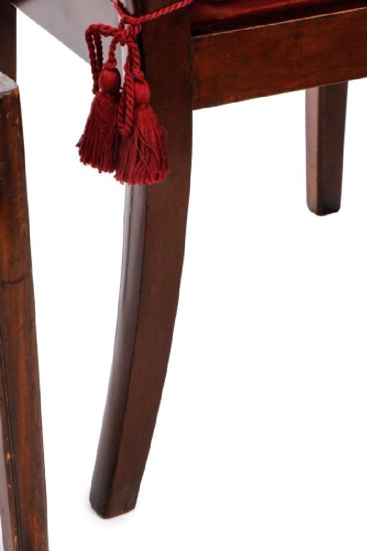 Set of 4 Edwardian Hepplewhite Side Chairs - 7