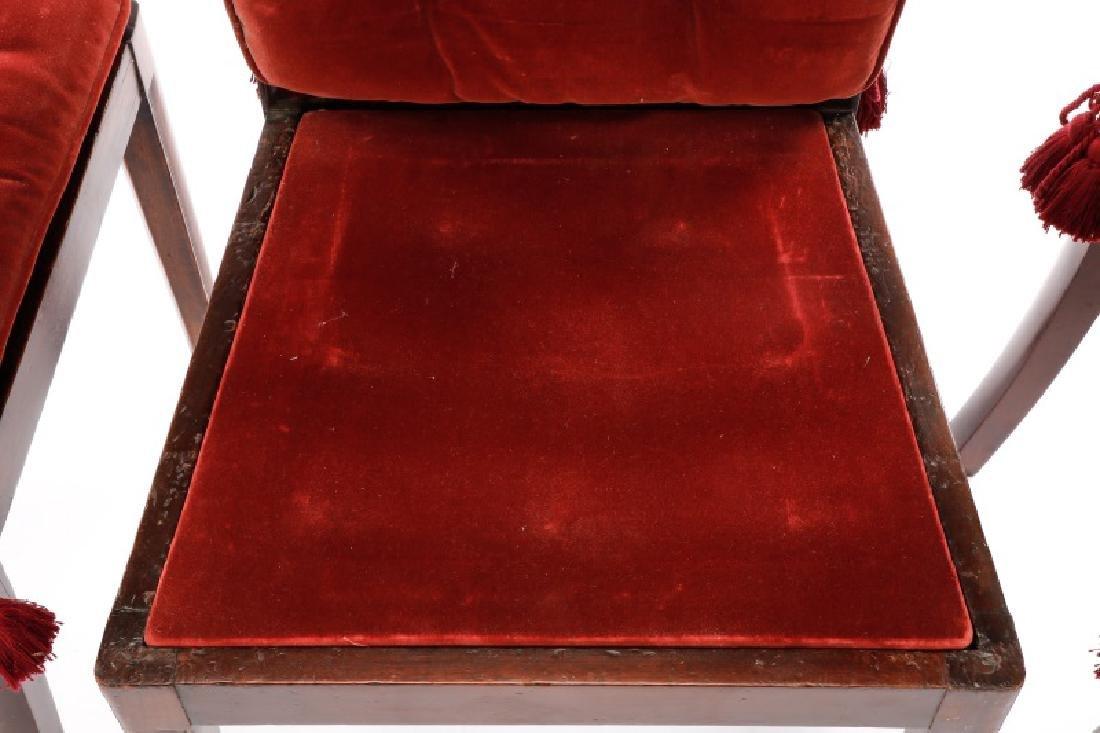 Set of 4 Edwardian Hepplewhite Side Chairs - 9