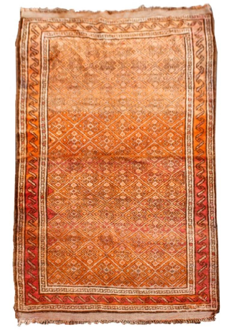 "Hand Woven Anatolian Area Rug 4' 5"" x 7' 3"""