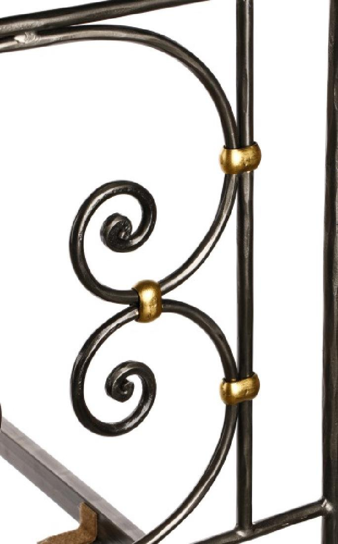 Pair of Neoclassical Style Twin Bed Frames - 5