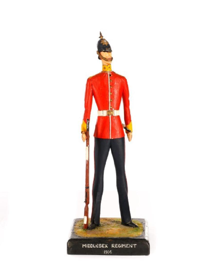 Cliff Arquette Middlesex Regiment Military Figure