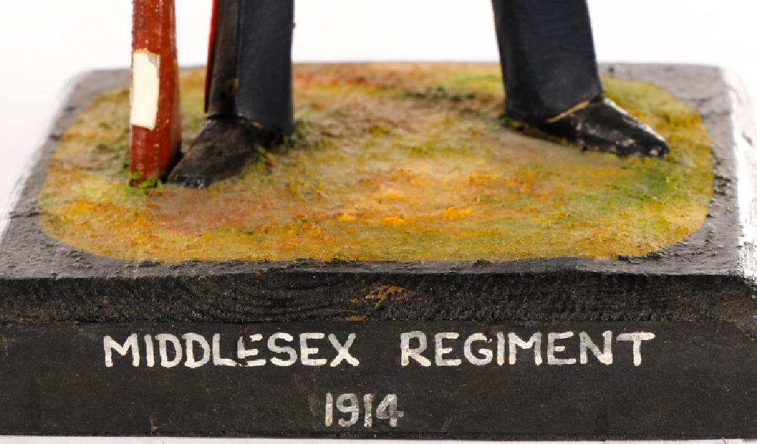 Cliff Arquette Middlesex Regiment Military Figure - 3