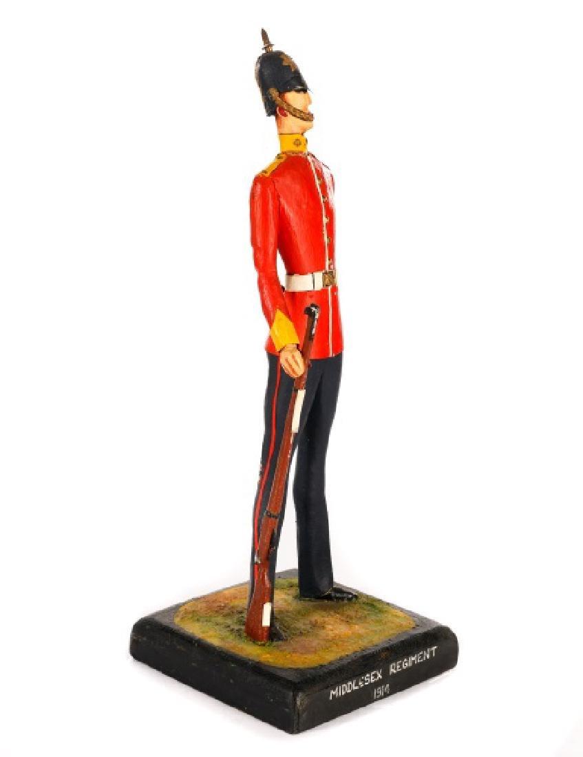 Cliff Arquette Middlesex Regiment Military Figure - 4