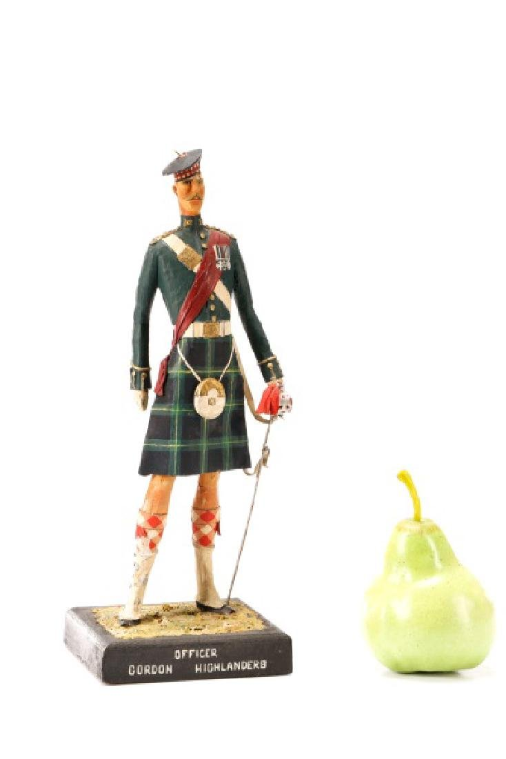 Cliff Arquette, Gordon Highlanders Officer Figure - 10