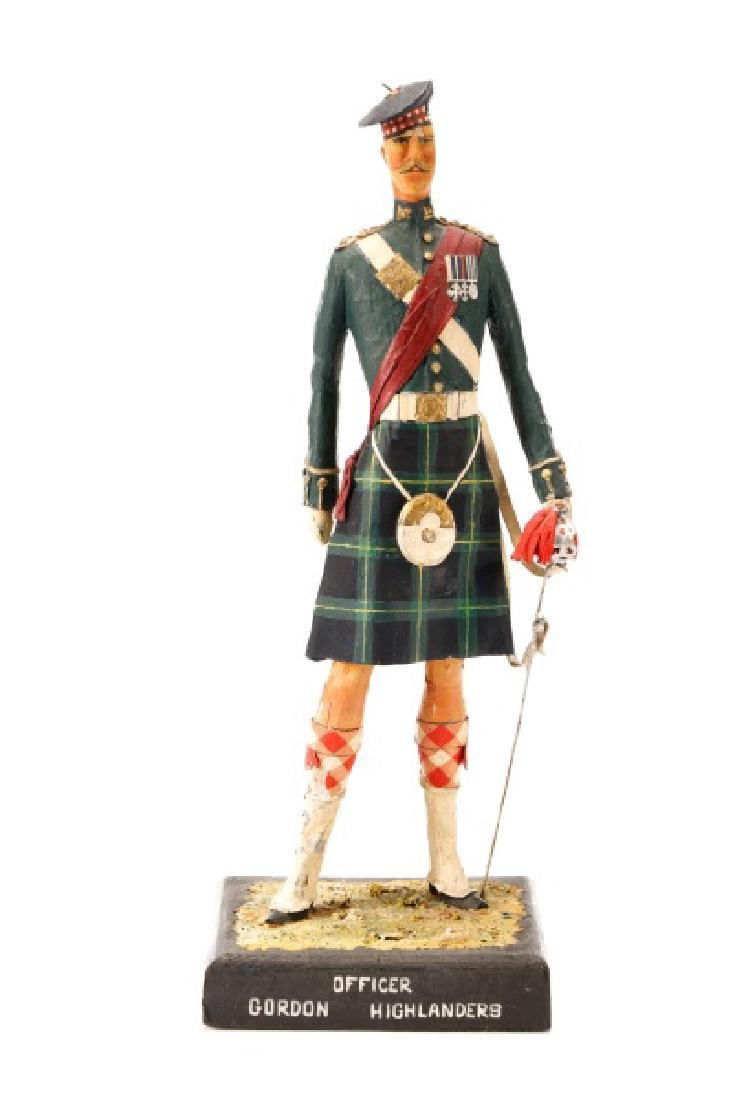 Cliff Arquette, Gordon Highlanders Officer Figure