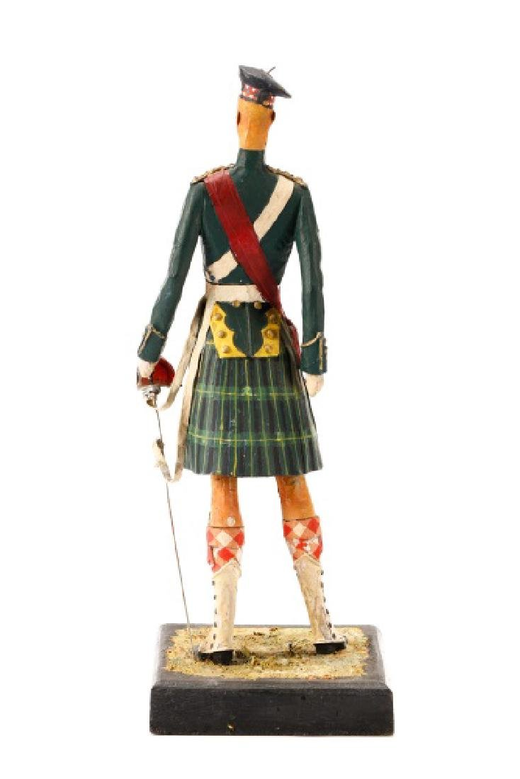 Cliff Arquette, Gordon Highlanders Officer Figure - 7