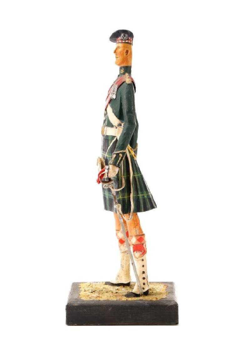 Cliff Arquette, Gordon Highlanders Officer Figure - 9