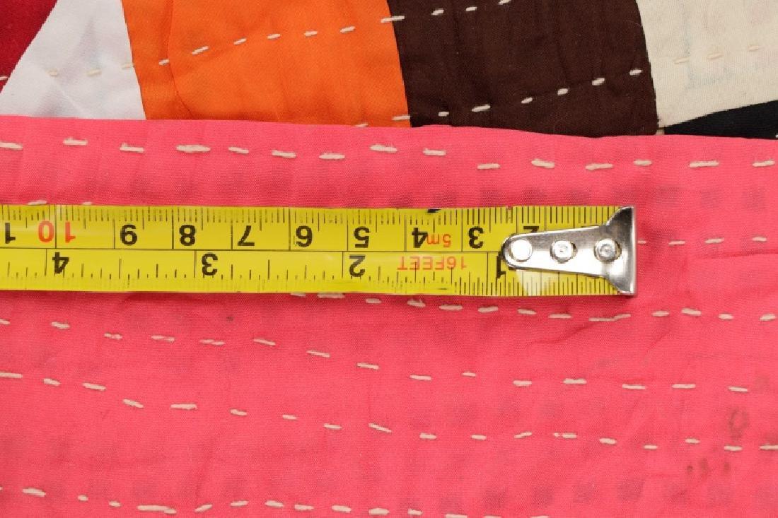 """Hand Woven Quilt - 5' 2"""" x 7' 8"""" - 7"""