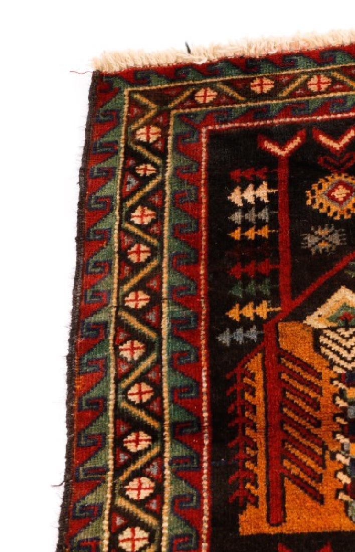 """Hand Woven Persian Balouchi Rug 3' 5"""" x 5' 10"""" - 3"""