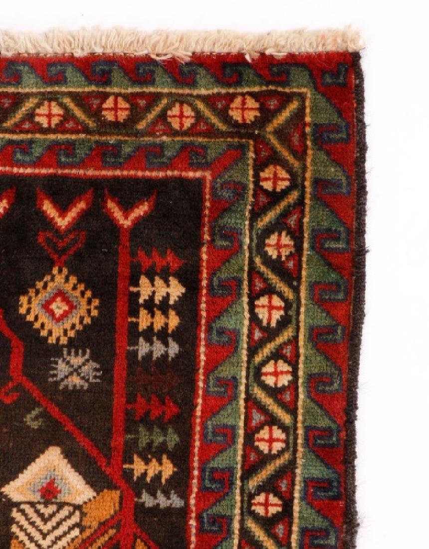 """Hand Woven Persian Balouchi Rug 3' 5"""" x 5' 10"""" - 4"""
