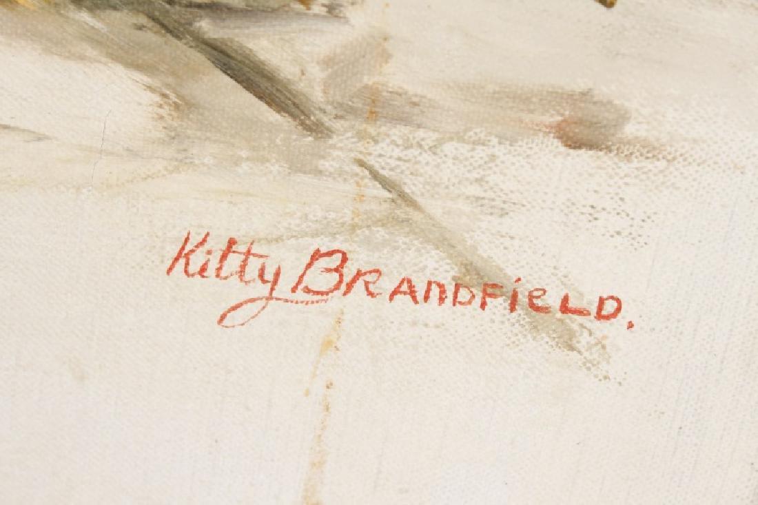 "Kitty Brandfield, Oil on Canvas, ""Cityscape"" - 2"