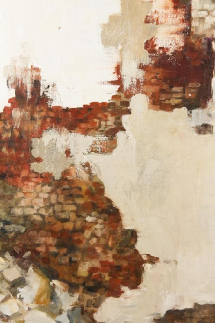 "Kitty Brandfield, Oil on Canvas, ""Cityscape"" - 4"