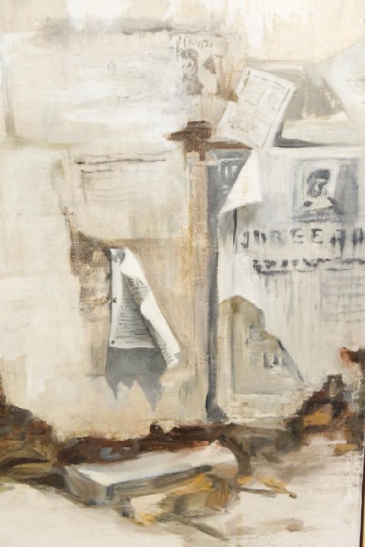 "Kitty Brandfield, Oil on Canvas, ""Cityscape"" - 5"