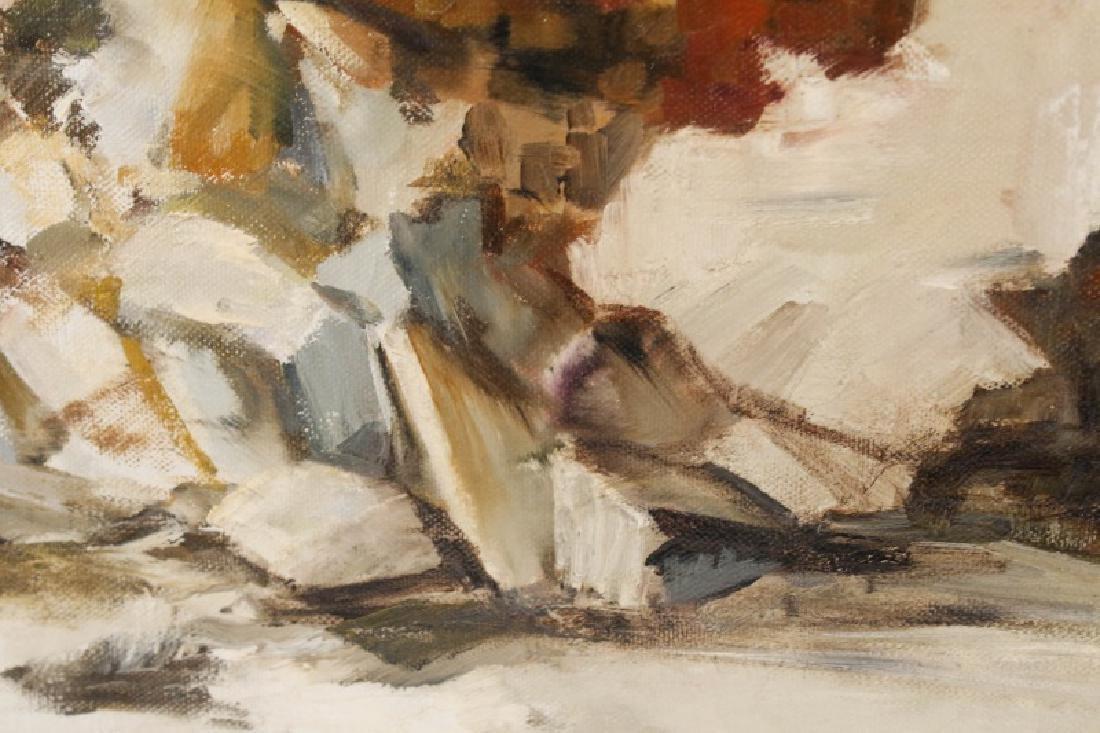 "Kitty Brandfield, Oil on Canvas, ""Cityscape"" - 6"