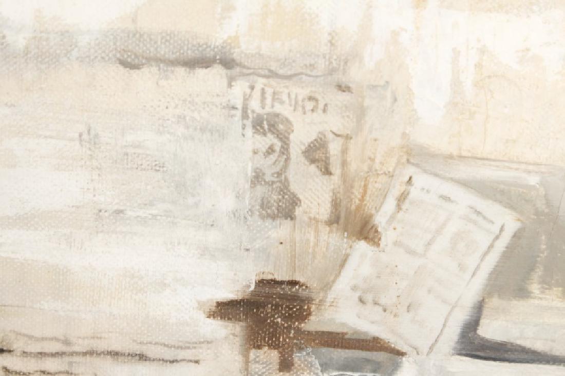 "Kitty Brandfield, Oil on Canvas, ""Cityscape"" - 7"