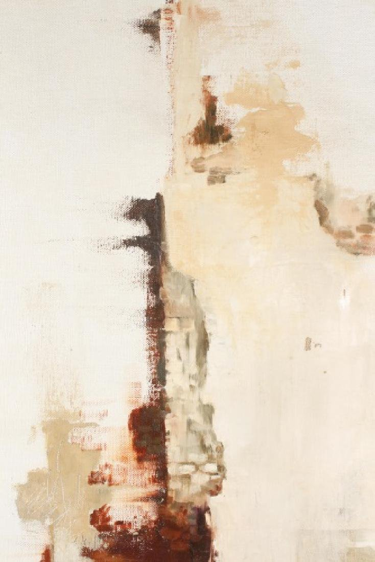 "Kitty Brandfield, Oil on Canvas, ""Cityscape"" - 8"