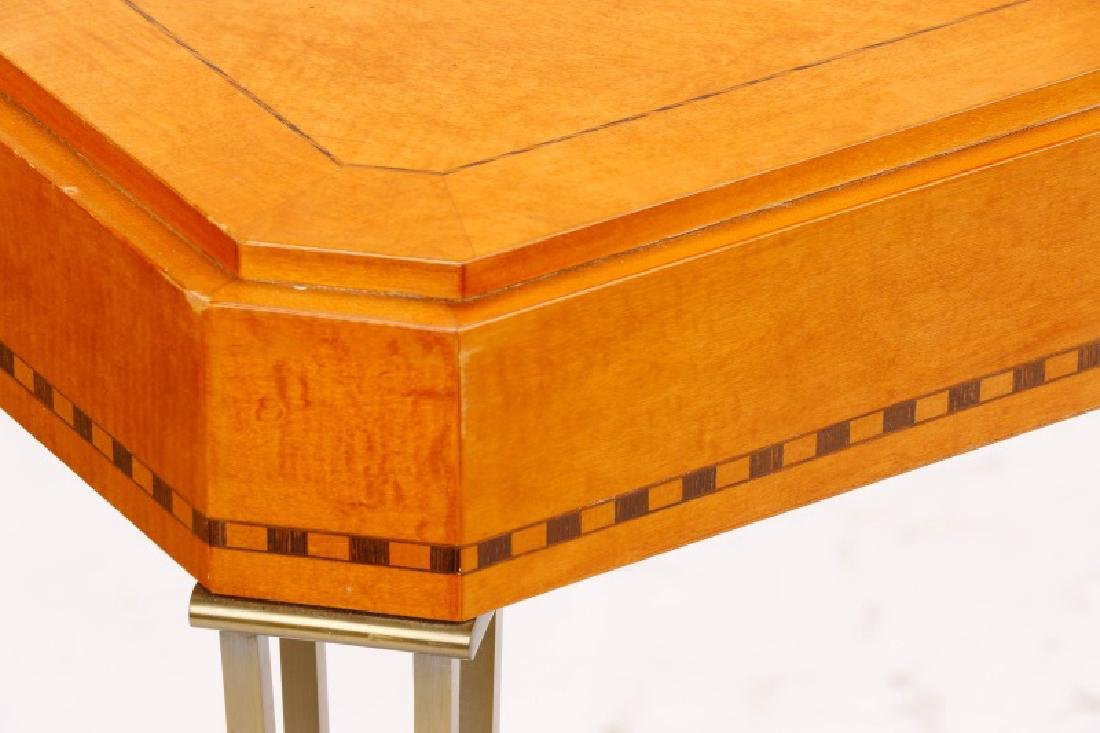 Modernist Maple Console Table - 2