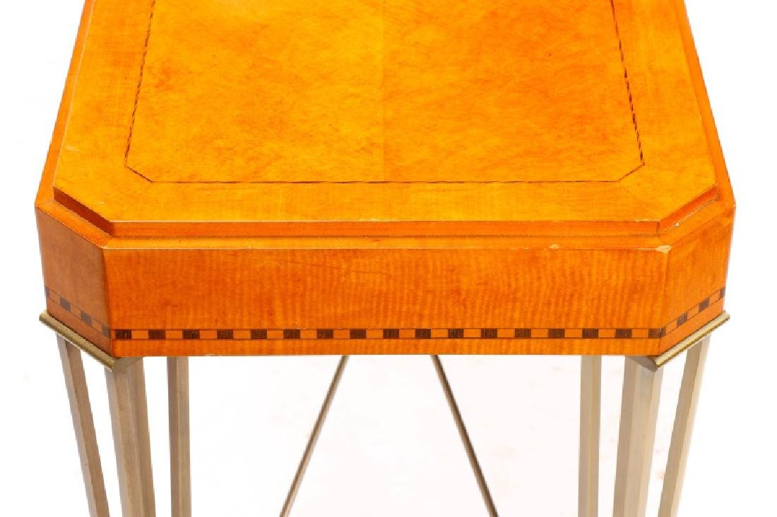 Modernist Maple Console Table - 5