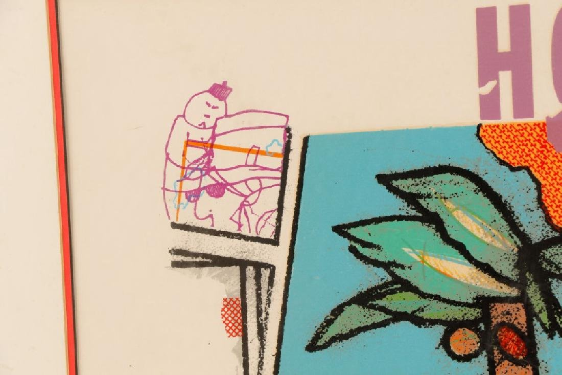 """Richard Marshall Merkin, """"Smile of Garbo"""", Signed - 4"""