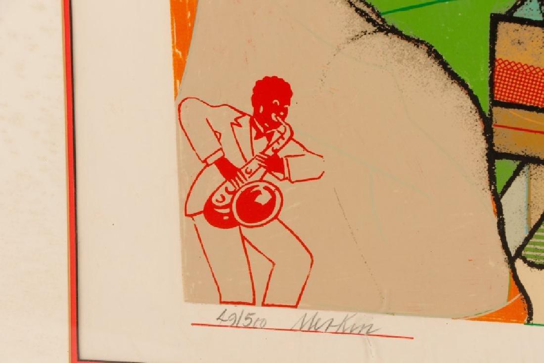 """Richard Marshall Merkin, """"Smile of Garbo"""", Signed - 7"""
