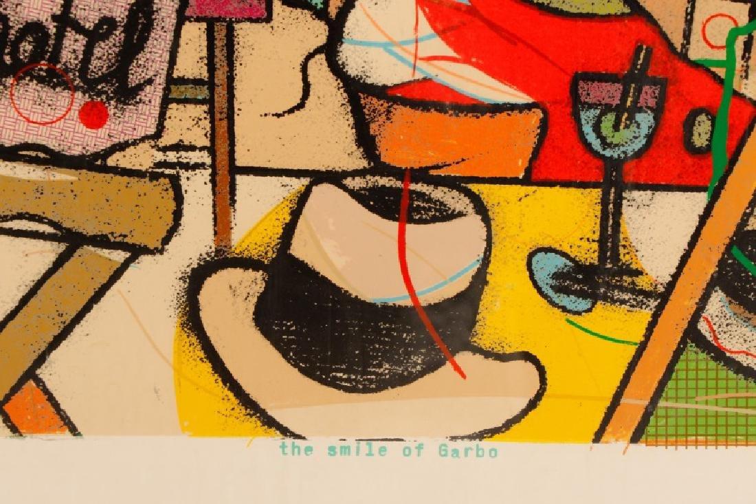 """Richard Marshall Merkin, """"Smile of Garbo"""", Signed - 8"""