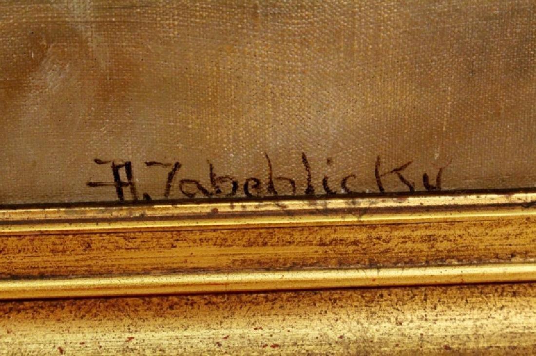 Zabehlicky Still Life with Fruit Oil, Signed - 5