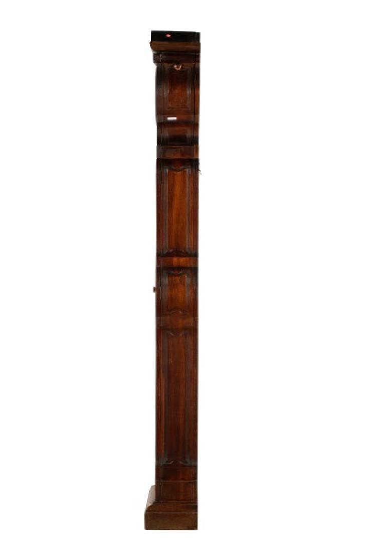 Art Nouveau Style Oak Tall Case Clock - 7