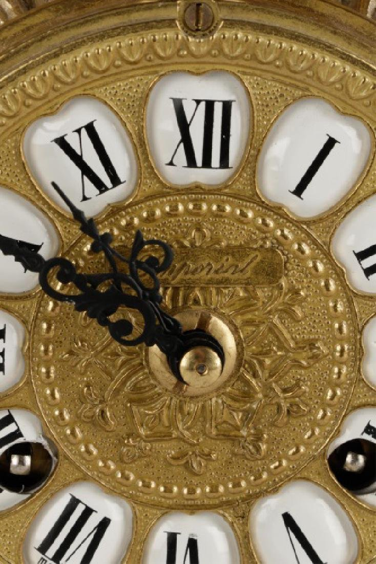 3 Pcs Sevres Style Clock Garniture, Franz Hermle - 4
