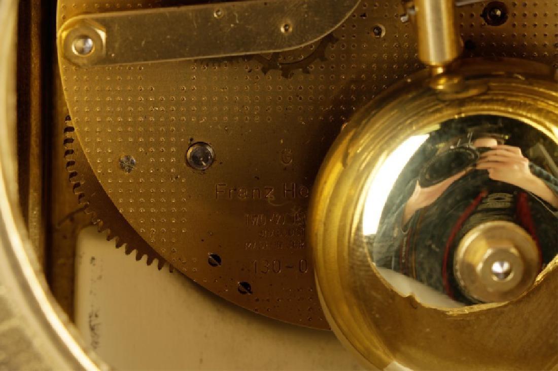3 Pcs Sevres Style Clock Garniture, Franz Hermle - 7