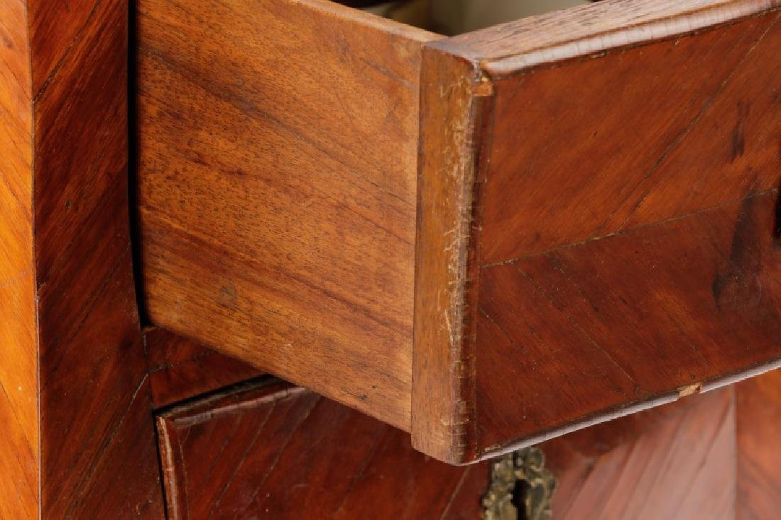 Louis XV Marble & Rosewood Night Stand, 18/19 C. - 3