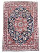 Hand Woven Semi Antique Persian Tabriz Area Rug