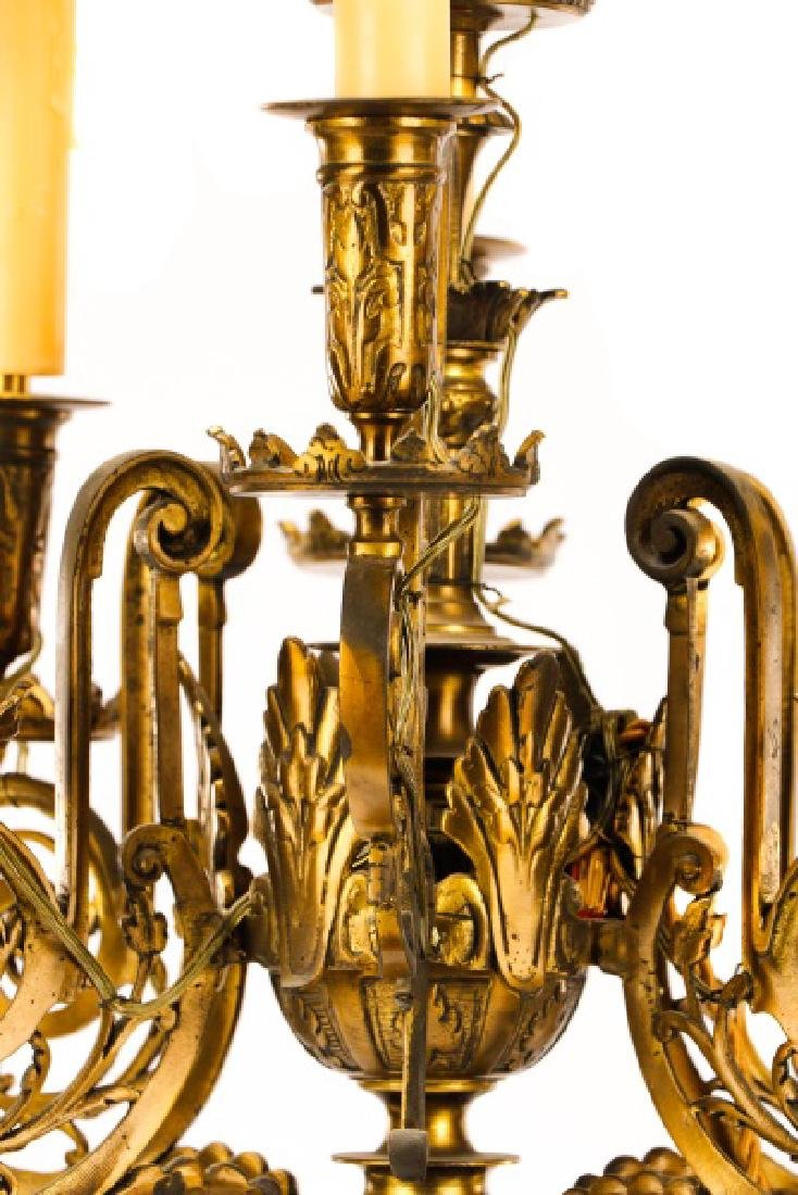 Pair, Renaissance Revival Style Candelabras - 3