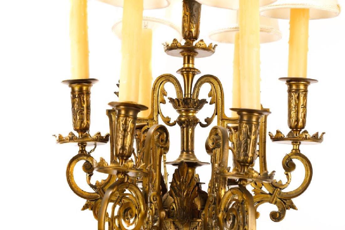 Pair, Renaissance Revival Style Candelabras - 7