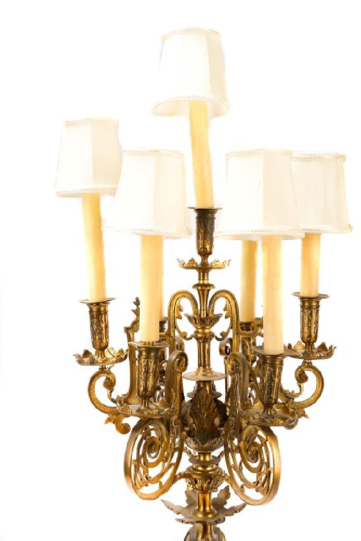 Pair, Renaissance Revival Style Candelabras - 8