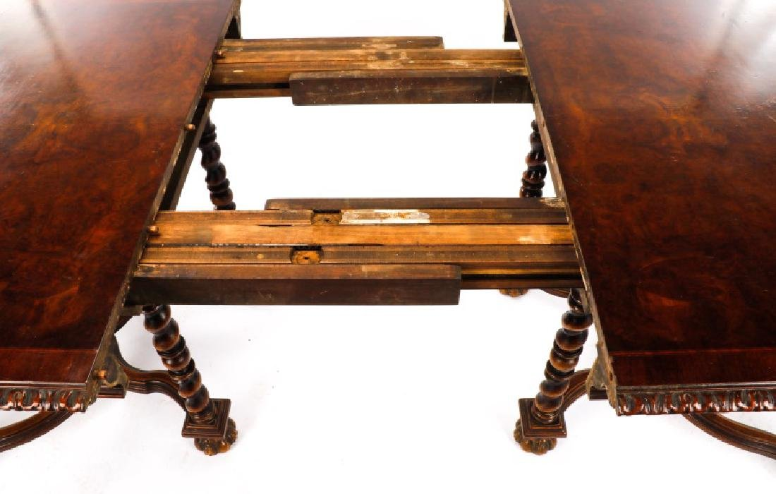 Marquetry Inlaid Dining Table, Hampton Shops - 7
