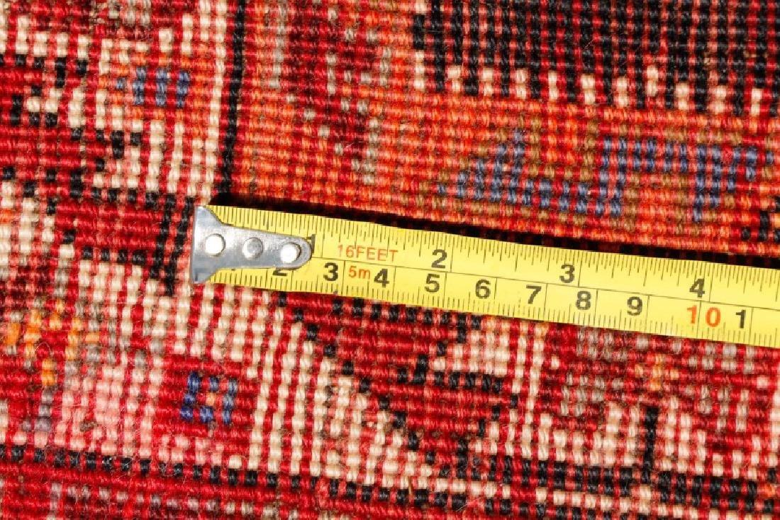 Hand Woven Persian Qashqai Rug 3'9'' x 10'5'' - 2
