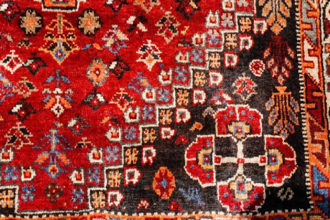 Hand Woven Persian Qashqai Rug 3'9'' x 10'5'' - 3