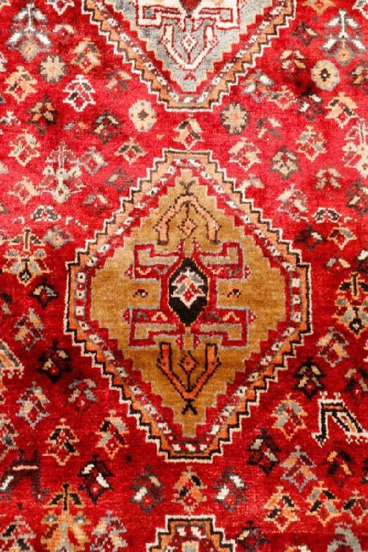 Hand Woven Persian Qashqai Rug 3'9'' x 10'5'' - 4