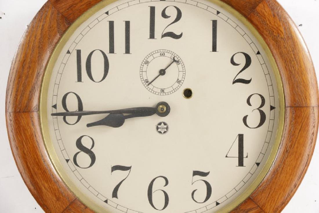 New Haven Saturn Regulator Wall Clock - 2
