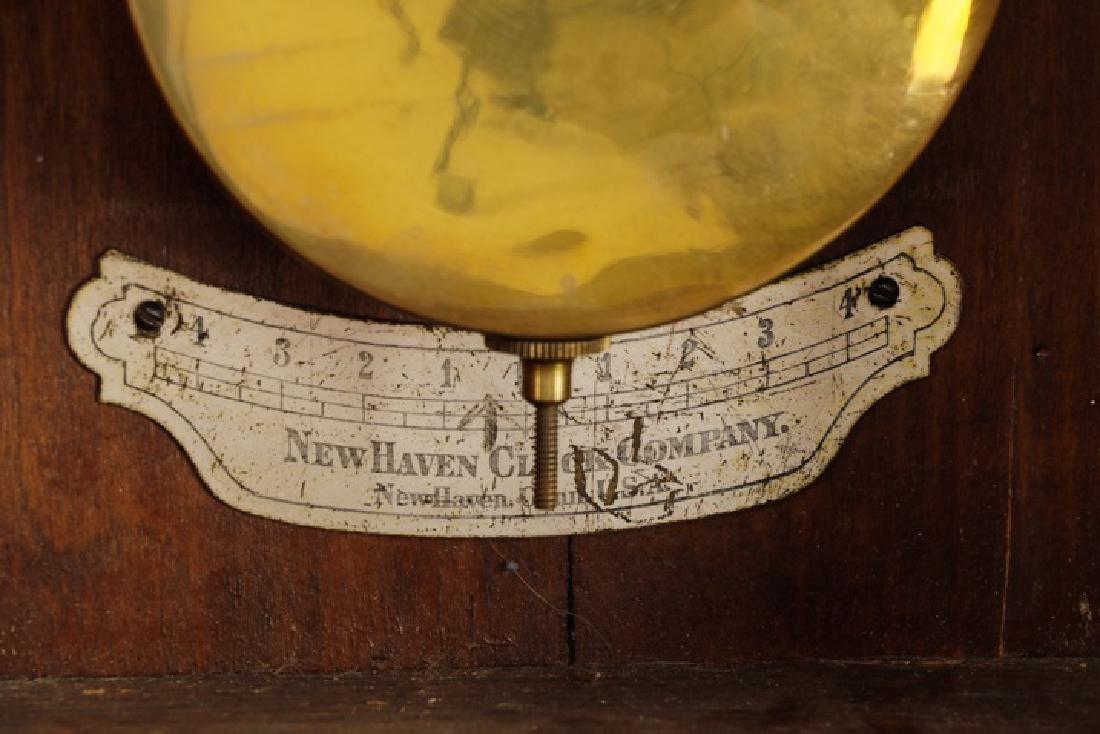 New Haven Saturn Regulator Wall Clock - 4
