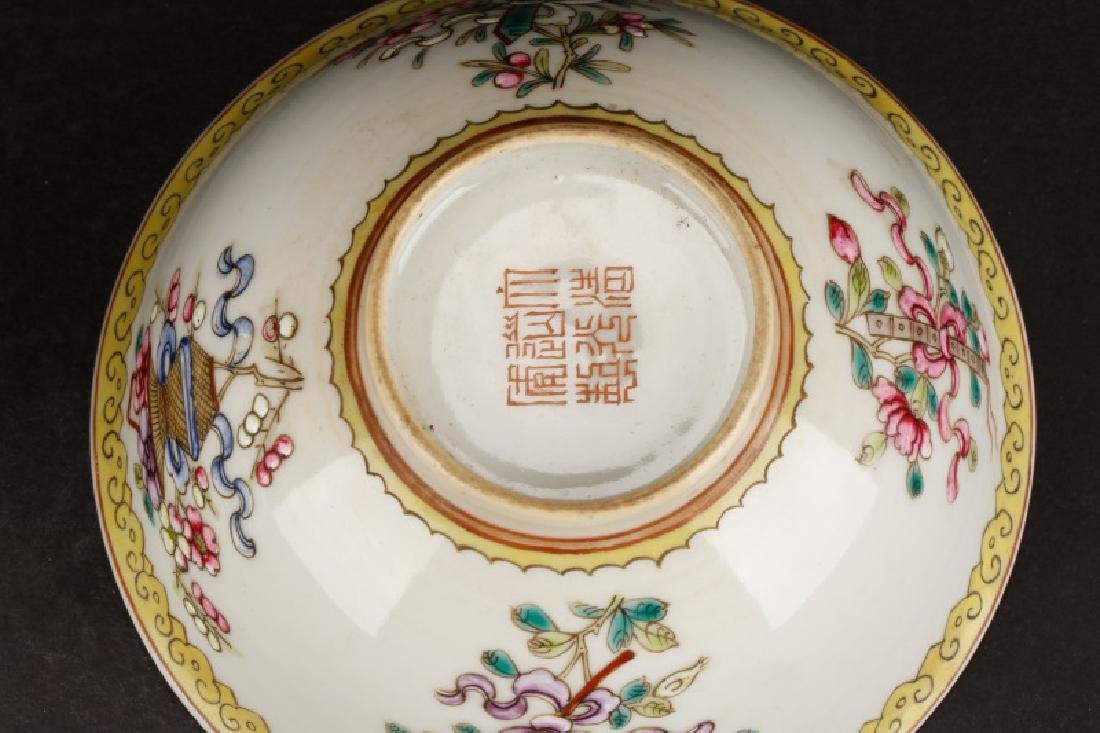 2 Daoguang Wine Cups w/ Attributes of 8 Immortals - 4
