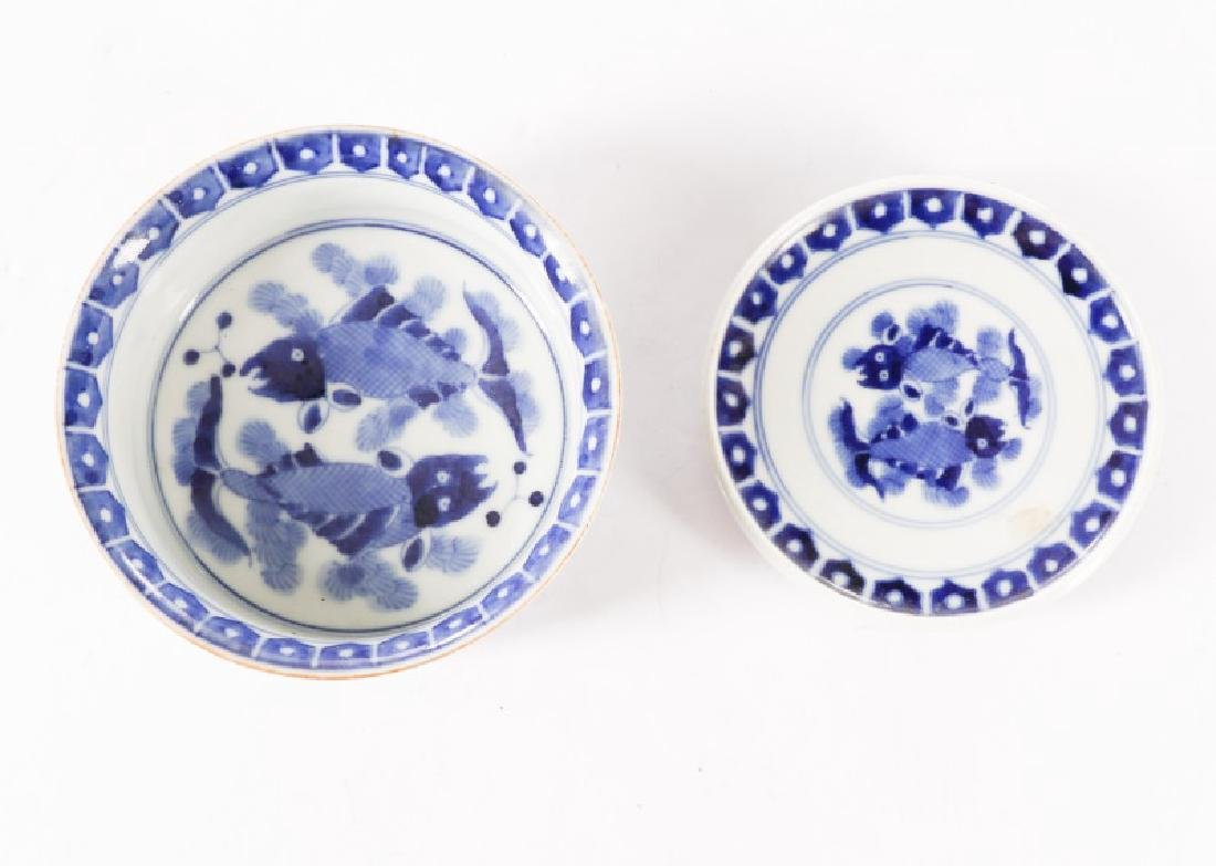 Very Fine Chinese Porcelain Lidded Rice Bowl - 3